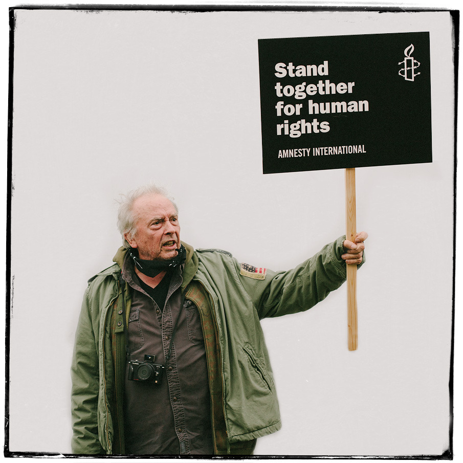 The legend that is David Bailey taken on a shoot I did for Amnesty International a couple of years ago. I've been pulling together my portraiture portfolio over the last few days… need to beef up my website with some more varied work. More to follow.