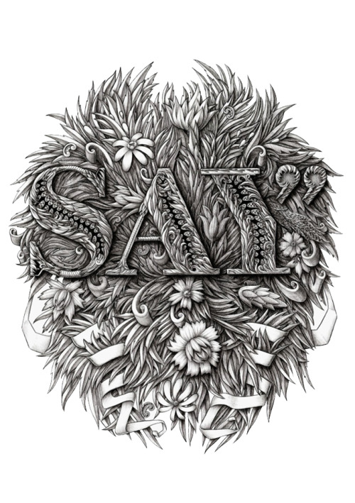 Typeverything.com T-shirt design for Say Media Inc. by Alex Konahin.