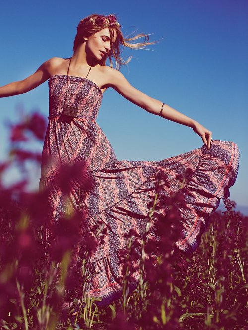 wantering:  Free People Easy Come Easy Go Dress