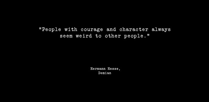 Hermann Hesse from Demian