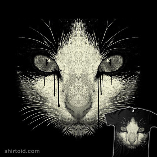 Inked Cat by Moncheng is available at Design By Humans