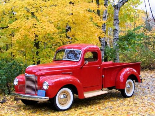 classicwoodie:  1948 International Pickup