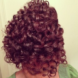 Curls, Curls, Curls CURLS…Curls I do ADORE!! Let's pray that they look this nice in the morning. @naturalt79 has done it again! More shots in the morning, never disappointed when I go to @zaydsnaturalhair1! #naturalhair #naturalisdope #curls #curlyhair #protectivestyling #curlbox #naturalhairdoescare