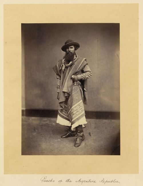 donnalethal:  Gaucho of the Argentine Republic, 1868.