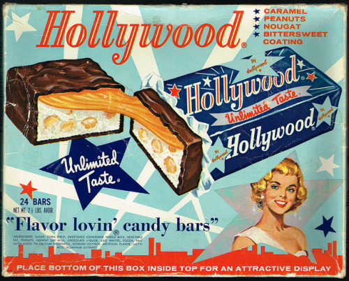 Hollywood Candy Bar Display Box by bolio88 on Flickr.