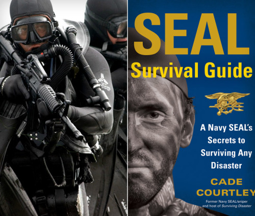 SEAL Survival Guide: A Navy SEAL's Secrets to Surviving Any Disaster. Because MacGyver wasn't real.