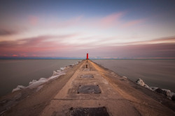 Gateway To My Soul Sheboygan Breakwater Lighthouse, Sheboygan, WI Taken on a very cold and windy day.  Or I should say, the wind has gotten to my soul :) http://danielchen.smugmug.com