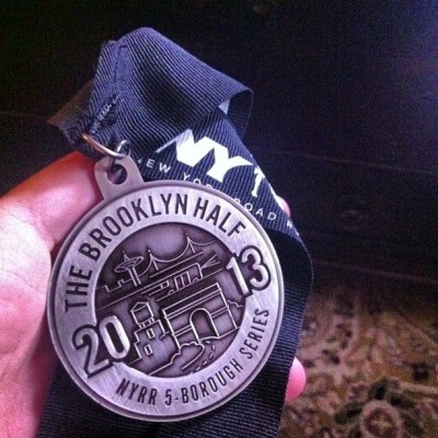 run-your-own-miles:  COMPLETED MY THIRD HALF MARATHON IN 01:20! #nyrr #PR #running #runnyc #fitness #nbbrooklyn #