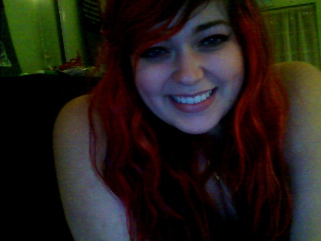 i am really happy tonight so here is a big cheesy grin