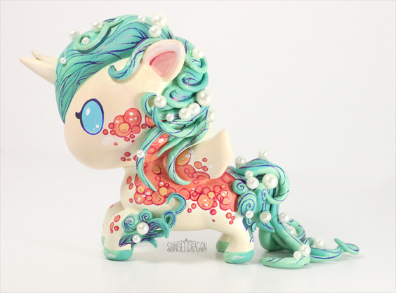 tokidoki DIY Unicorno Contest Winner Announced Check out the winning entry in the tokidoki x Sharpie DIY Unicorno Challenge. This custom definitely deserved the win. From the color scheme, to the extra moulding, to the detailed painting, it's plain awesome. Check out the runners up here.