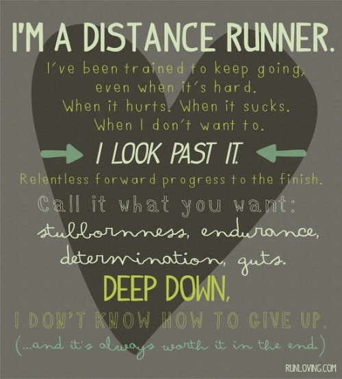 hungryrunner:  Distance athlete for life.   This.
