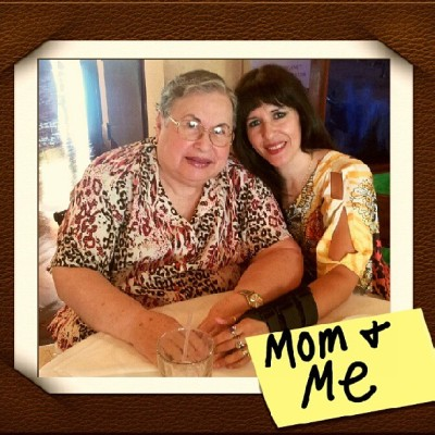 Celebrating my special day,  with my FAV 'gal-Mom! Thanks mom, I Love You!  (at Il Toscano)