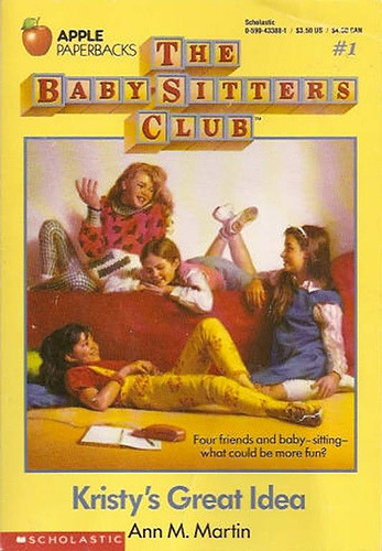 Attention Baby-sitters Club fans! Tonight at 5:30 EST, Scholastic will be holding a live Twitter party with author Ann M. Martin. Four friends and baby-sitting - what could be more fun… Bedazzled leggings and pineapple earrings optional, of course.