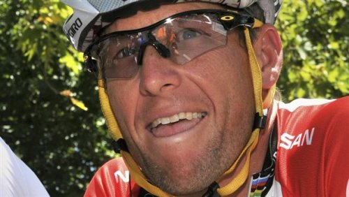 thehedrick:  nbcnews:  Report: Armstrong admits doping in interview (Photo: Stringer/Australia / Reuters file) AUSTIN, Texas - A person familiar with the situation says Lance Armstrong confessed to Oprah Winfrey during an interview Monday that he used performance-enhancing drugs to win the Tour de France. Read the complete story.  Because of course Lance Armstrong was doping.   Before the interview, Armstrong apologized to Livestrong's staff regarding the doping. There were reportedly a lot of tears.
