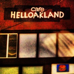Or is this Cafe Hell Oakland. Different perspectives.  (at Cafe Helloakland)