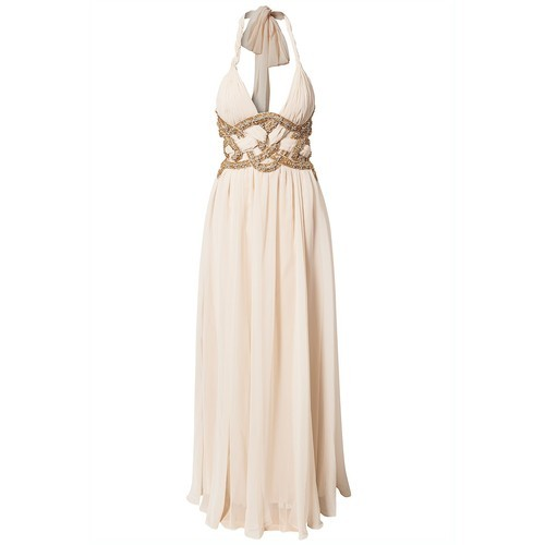 Forever Unique dress   ❤ liked on Polyvore (see more halter dresses)