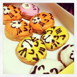 cute treats from Mister Donuts