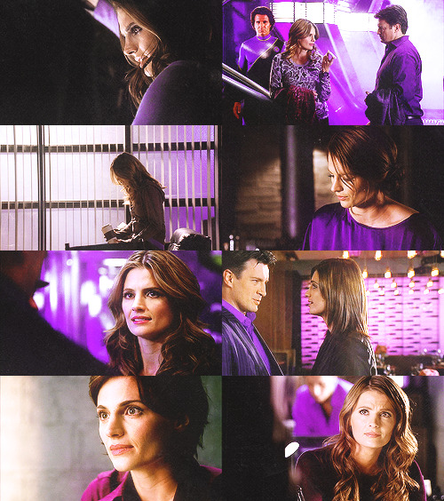 kate beckett + purple → grantmellie