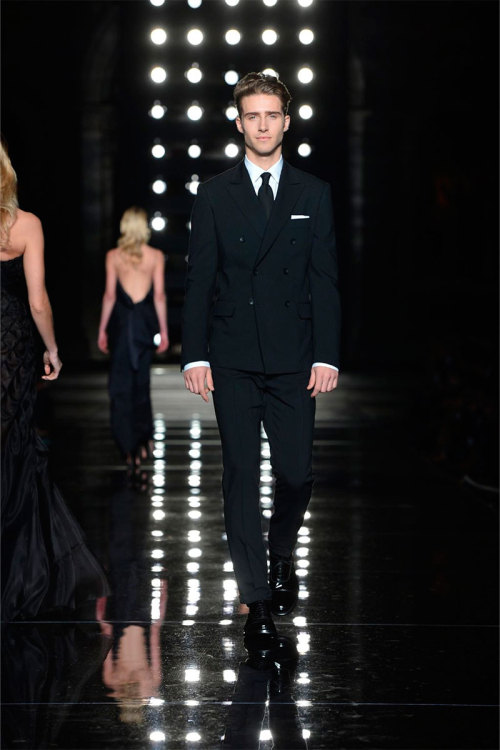 Ryan Taylor |  Ermanno Scervino Fall/Winter 2013 | Pitti Uomo Fashion Week