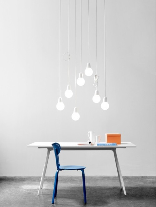 modernekohome:  CONTRAST COLOUR via Bulb Fiction by KiBiSi | GBlog