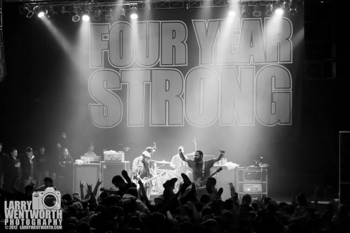 larrywentworthphoto:  Four Year Strong-20 on Flickr.Via Flickr: | Website | Facebook | Email Me | Four Year Strong 12/30/12 Worcester Palladium