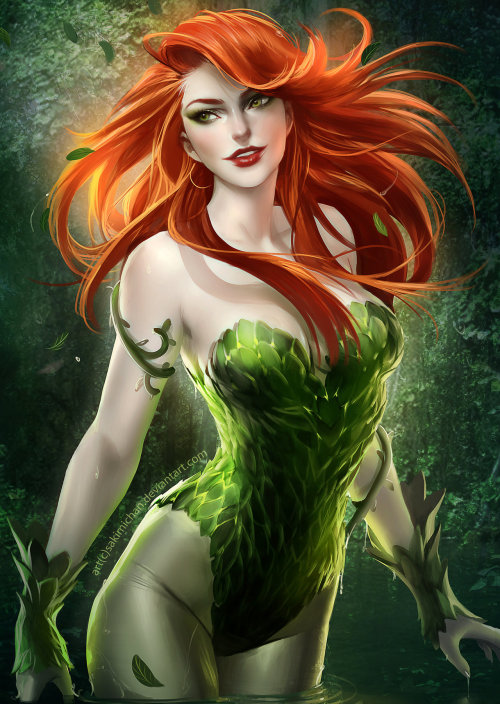 youngjusticer:  Damn, woman. Ivy, by Sakimi Chan.