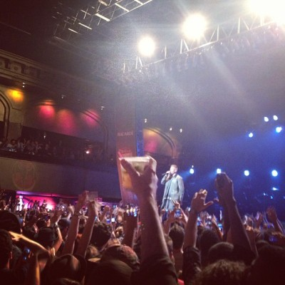 crowd's live. #Mackelmore