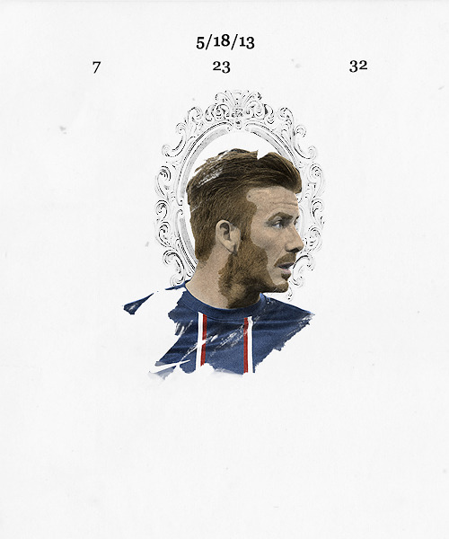 David Beckham : The boy from Leytonstone who became a legend. Thank you for everything.