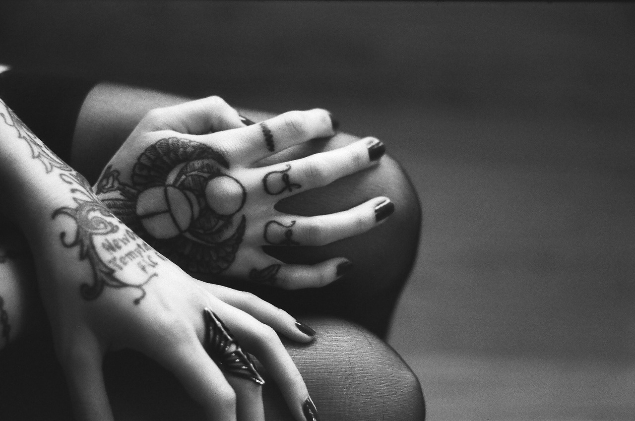 Tattoo Hands of Justine Marie