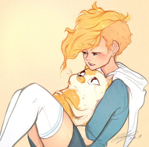 percyjacksongrace:  Fiona and Cake
