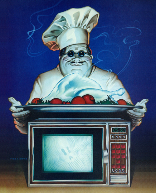 mudwerks:  Illustration by Todd Schorr, 1979 (by MewDeep)