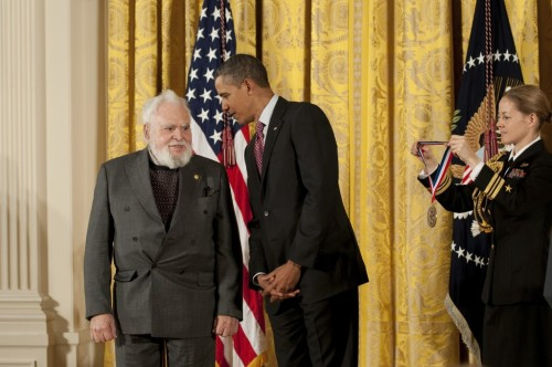 President Obama Awards National Medal of Science to a Solomon Golomb, ICT Advisory Board Member and USC Viterbi Legend