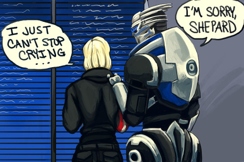 itsprecioustime:  Shepard's got her priorities straight.