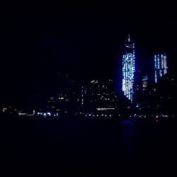 """Last Night"" - #abrooklynsoul #LowerManhattan #Skyline #FreedomTower #Citylights #Lights #Nightfall #Night #NYHarbor #ViewsFromTheFerry #ViewsoftheWater #NYC #NewYork #NewYorkCity #Water #SIFerry #StatenIslandFerry #FromStatenIslandtoManhattan  (at Staten Island Ferry Boat - Spirit Of America)"