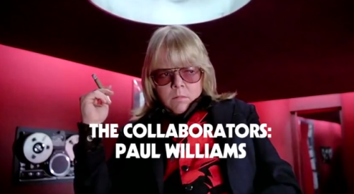 (via Paul Williams talks about collaborating with Daft Punk) Legendary songwriter Paul Williams is the latest to talk about working with Daft Punk for The Creator's Project's collaborators series. WATCH HERE