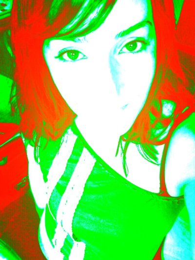 #selfieeveryday #DoSomethingDifferent #me #green n #red 👽 (from @Rose18_ on Streamzoo)