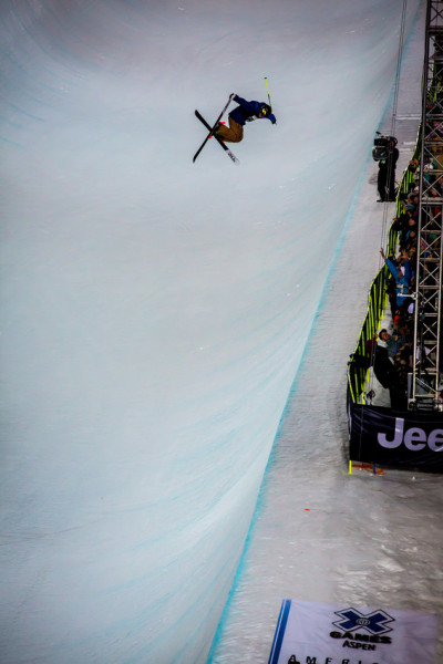 xgames:  David Wise, flawless in the SuperPipe! This is what it looks like to win GOLD at X Games Aspen: http://bit.ly/UAqNB9