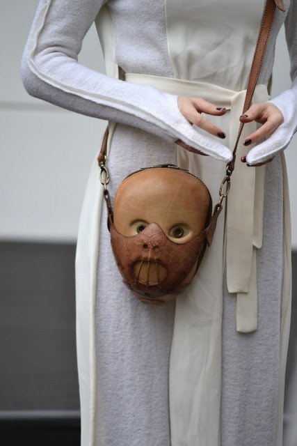 Hannibal Lecter purse    I NEED this bag in my life WHERE can i get one OMG?!