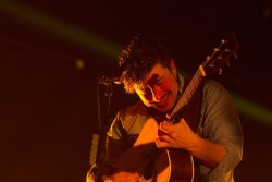 mumfordandsonsblog:  Marcus Mumford of Mumford & Sons performs at Annexet in Stockholm, Sweden on 10th April, 2013. Photo © Sandra Johnson (Website/Blog).