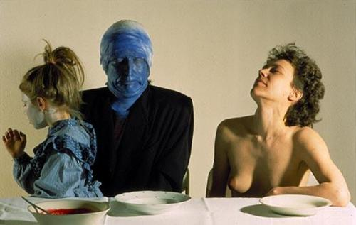 gyx:  Gottfried Helnwein, Last Supper series, 1987