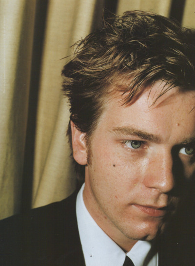ewan mcgregor photographed by juergen teller for arena homme+ in 1996