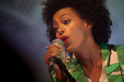 Solange @ SXSW. (Photo credit: Ryan Muir)