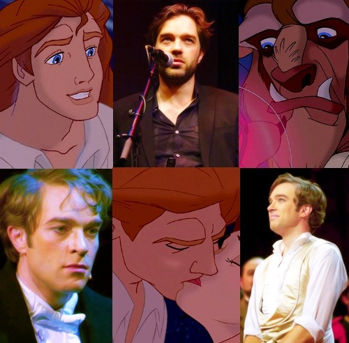 "thatfrenchhelper:   Beauty and the Beast Dreamcast - Hadley Fraser as Prince Adam  ""You're not welcome here!"""