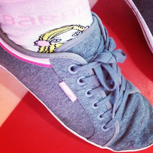 Barbie socks💘 (at E-walk)