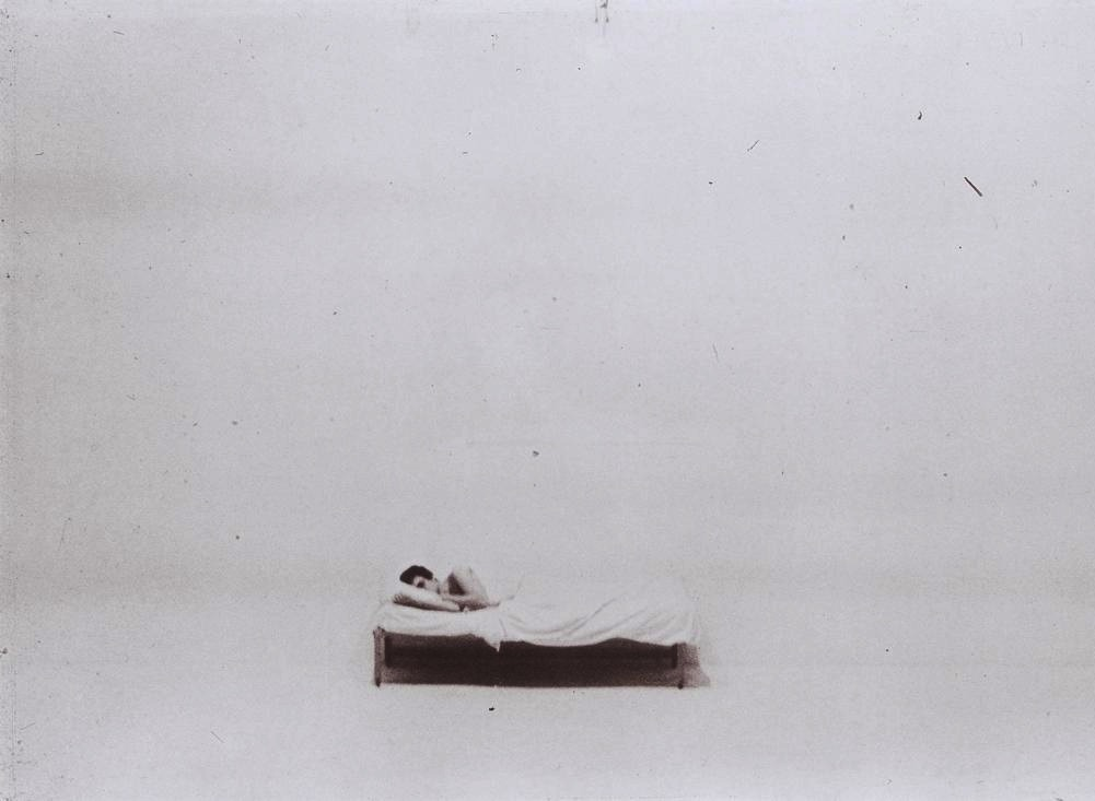 "asymptoticgiantbranch:  ""Bed Piece"", Chris Burden, 1972"