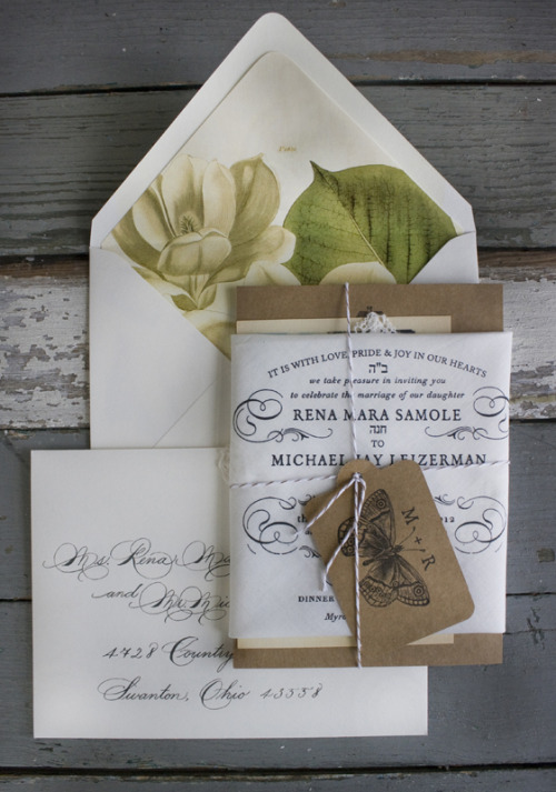 dyingofcute:  Wedding invitations