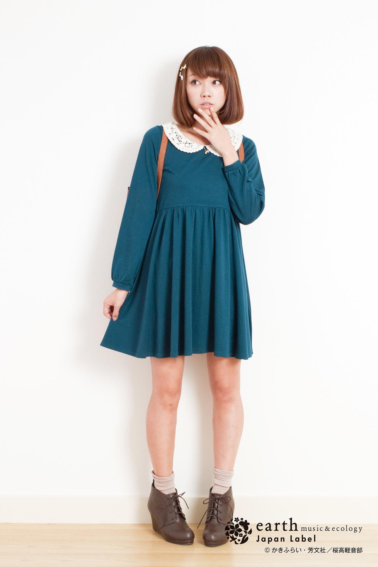 【画像】「けいおん!」の各キャラをイメージした服が発売