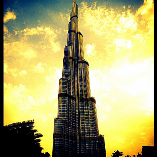 One of the greatest buildings in the world - The Burj Khalifa of Dubai.