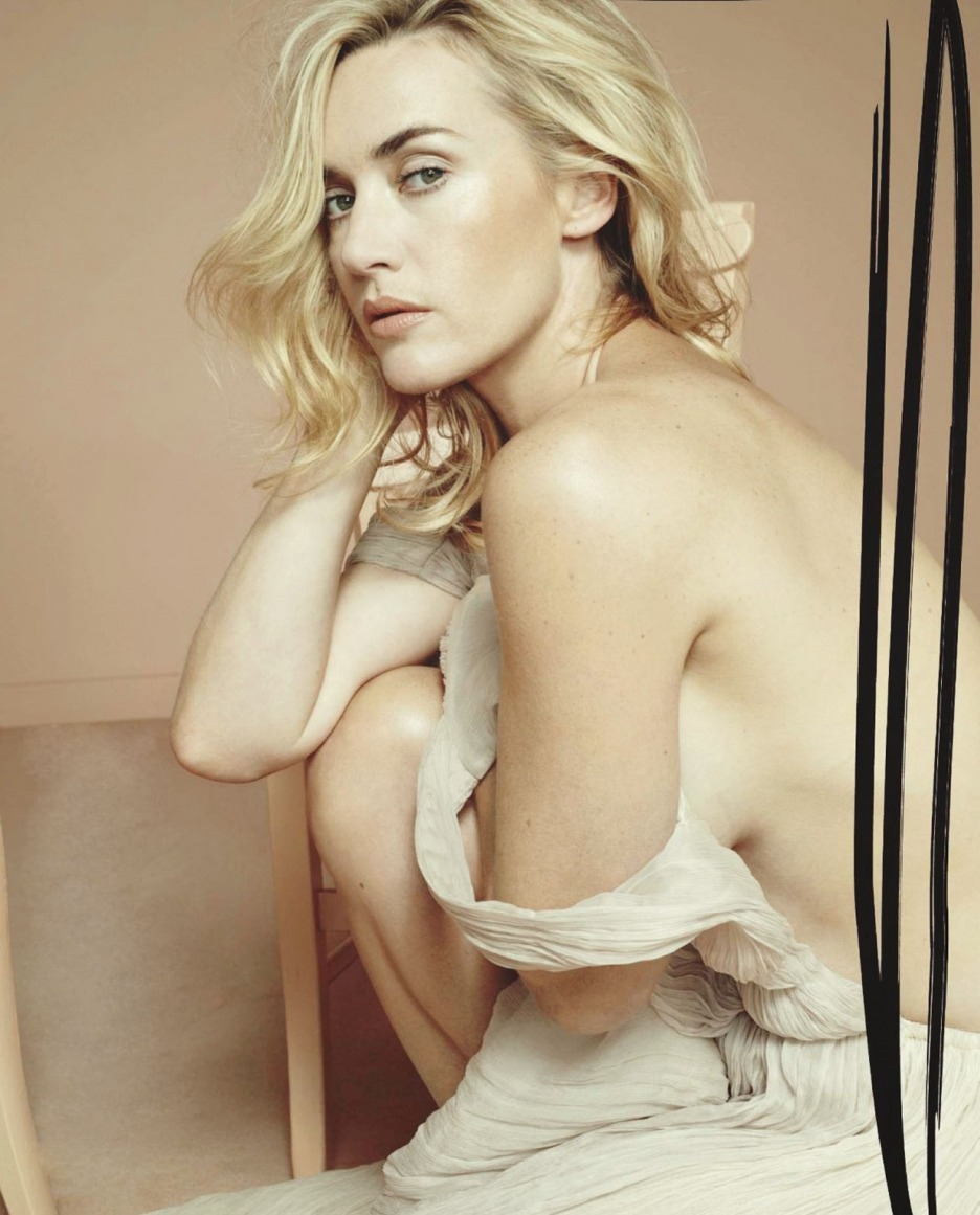 Kate Winslet photographed by Bettina Rheims