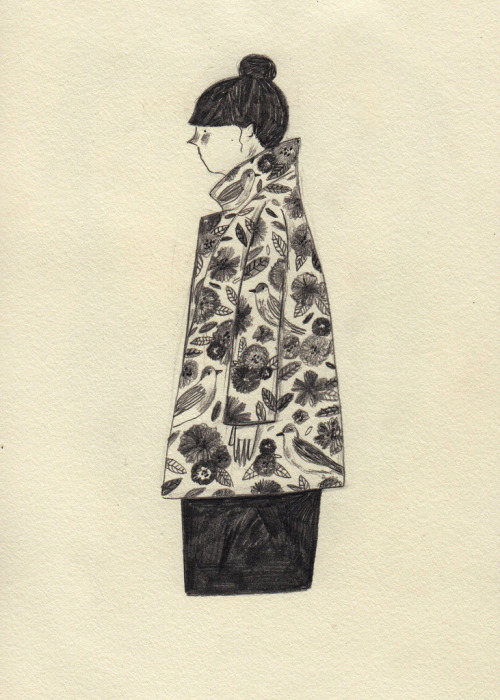 Floral Coat (by Lizzy Stewart)